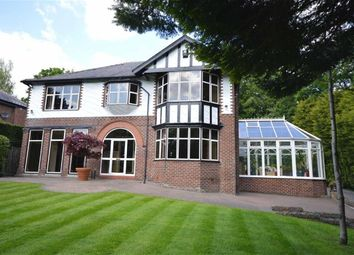 Thumbnail 5 bedroom detached house for sale in Bury Old Road, Prestwich, Manchester