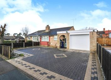 Thumbnail 3 bed semi-detached bungalow for sale in Albert Rolph Drive, Lakenheath, Brandon