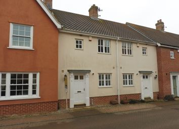 Thumbnail 2 bedroom terraced house for sale in Porterbush Road, Mulbarton, Norwich