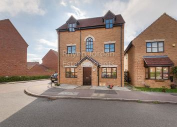 Thumbnail 4 bedroom detached house for sale in Levens Hall Drive, Westcroft, Milton Keynes
