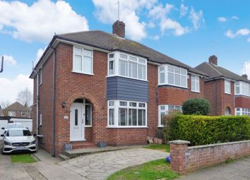 Thumbnail 3 bed semi-detached house for sale in Norcott Close, Dunstable