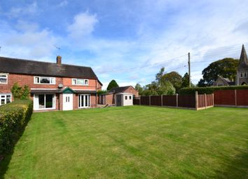 Thumbnail 3 bed semi-detached house for sale in Cemetery Road, Market Drayton
