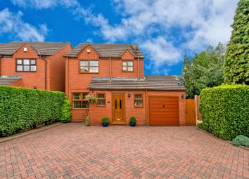 Thumbnail 3 bed detached house for sale in Porchester Close, Walsall Wood, Walsall