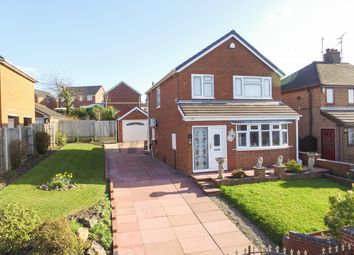 Thumbnail 3 bedroom detached house for sale in Ian Road, Newchapel, Stoke-On-Trent