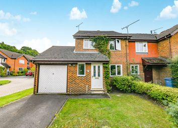 Thumbnail 3 bed semi-detached house to rent in Nether Vell-Mead, Church Crookham, Fleet