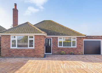 Thumbnail 4 bed detached bungalow for sale in Ormesby Road, Hemsby, Great Yarmouth