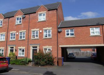 Thumbnail 3 bed town house for sale in Dallow Street, Burton-On-Trent