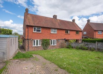 Thumbnail 3 bed semi-detached house for sale in Selby Rise, Uckfield