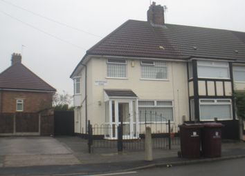 Thumbnail 3 bed property to rent in Hathersage Road, Huyton, Liverpool