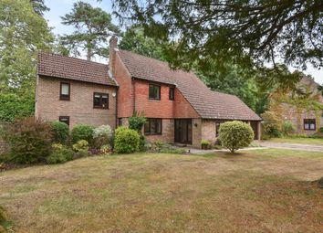 Thumbnail 4 bed detached house for sale in Clare Mead, Rowledge, Farnham, Surrey