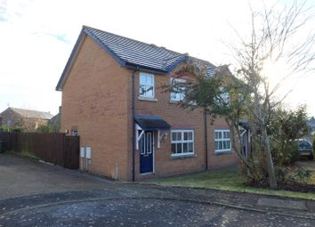 Thumbnail 3 bed semi-detached house for sale in The Paddocks, Thursby, Carlisle
