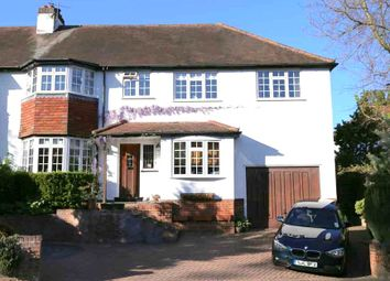 Thumbnail 4 bed semi-detached house to rent in The Close, Ascot