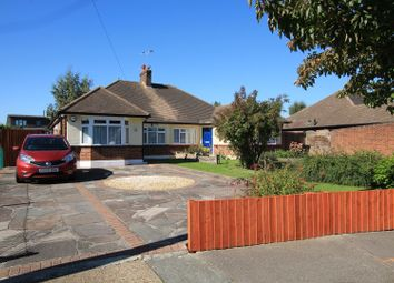 Thumbnail 3 bedroom semi-detached bungalow for sale in Canterbury Avenue, Upminster