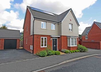 Thumbnail 4 bed detached house for sale in Sand Grove, Exeter