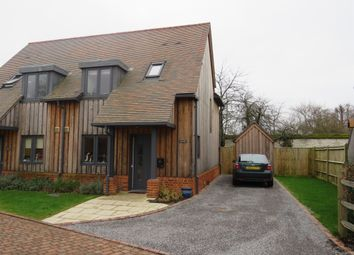 Thumbnail 2 bed semi-detached house for sale in The Orchards, Stockbridge, Winchester