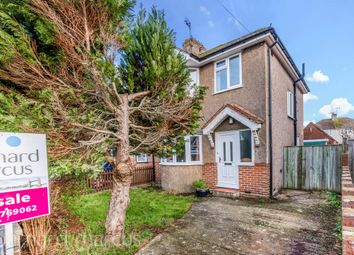 Thumbnail 3 bed semi-detached house for sale in Shirley Avenue, Redhill