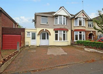 Thumbnail 3 bed semi-detached house for sale in Headlands Grove, Upper Stratton, Swindon