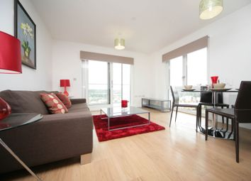 Thumbnail 1 bed flat to rent in Barge Walk, London