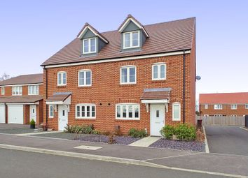 Thumbnail 4 bed semi-detached house for sale in Osborn Drive, Tangmere, Chichester