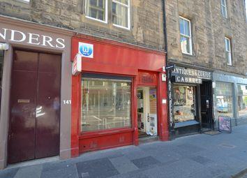 Thumbnail Retail premises to let in West Port, Edinburgh