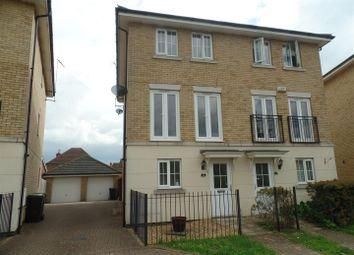 Thumbnail 3 bed property to rent in Marius Crescent, Hampton Hargate, Peterborough