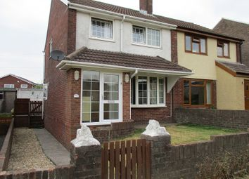 Thumbnail 3 bed semi-detached house for sale in Dol Las, Baglan, Port Talbot, Neath Port Talbot.