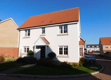 Thumbnail 3 bed link-detached house for sale in Crossbill Road, Stowmarket