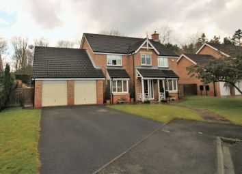 Thumbnail 5 bed detached house for sale in Langbaurgh Road, Hutton Rudby, Yarm