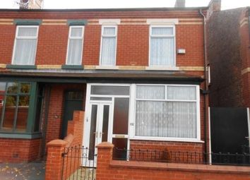 Thumbnail 2 bed terraced house for sale in Cromwell Road, Salford, Greater Manchester