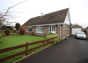 Thumbnail 2 bed semi-detached house for sale in Meadowvale Close, Bangor