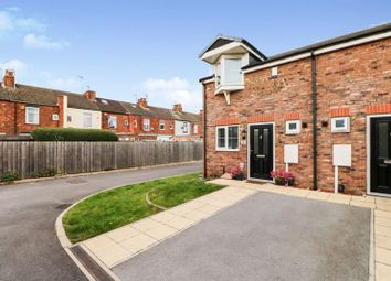 Thumbnail 2 bed semi-detached house for sale in Trafalgar Close, Hessle