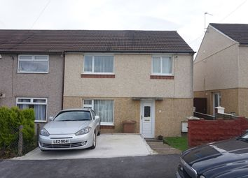 Thumbnail 3 bed semi-detached house for sale in Pinewood Court, Pontllanfraith, Blackwood