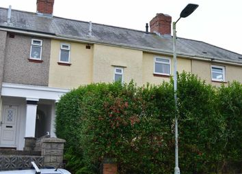 Thumbnail 3 bed terraced house for sale in Emlyn Road, Swansea