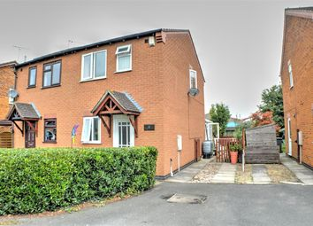 Thumbnail 2 bed semi-detached house for sale in Pinfold Close, Osbournby, Sleaford