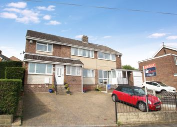 Thumbnail 4 bed semi-detached house for sale in Everard Avenue, Bradway, Sheffield