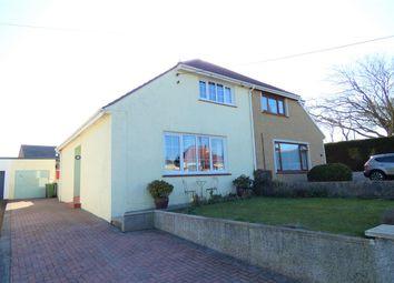 Thumbnail 3 bed semi-detached house for sale in Pembroke Road, Merlins Bridge, Haverfordwest