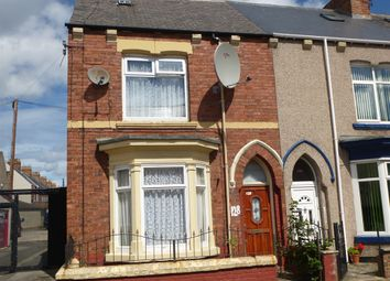 Thumbnail 3 bedroom end terrace house for sale in Milton Road, Hartlepool