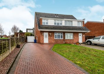 Thumbnail 3 bedroom semi-detached house for sale in Redwood Drive, Cannock