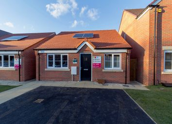 Thumbnail 2 bed detached bungalow for sale in Skippers Meadow, Narborough, King's Lynn