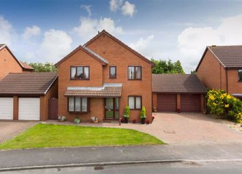 Thumbnail 4 bed detached house for sale in Chandlers Croft, Hesketh Bank, Preston