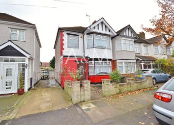 Thumbnail 3 bedroom end terrace house to rent in Brockham Drive, Ilford