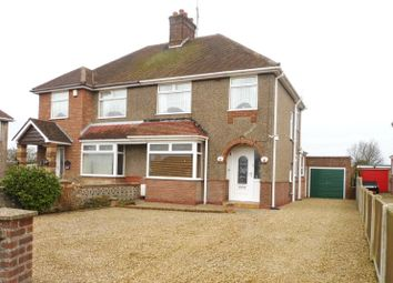 Thumbnail 3 bedroom semi-detached house for sale in Ormesby Road, Caister-On-Sea, Great Yarmouth, Norfolk