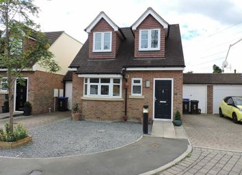 Thumbnail 3 bed detached house for sale in Park Close, Byfleet, Surrey