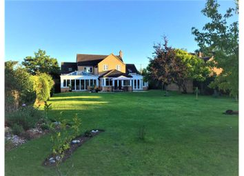 Thumbnail 5 bed detached house for sale in Meadow Lane, Earith