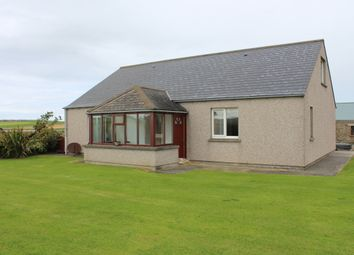 Thumbnail Detached bungalow for sale in Sandwick, Stromness