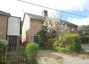 Thumbnail 2 bedroom semi-detached house for sale in Chappel Road, Great Tey, Colchester