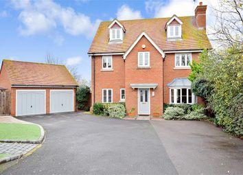 Thumbnail 6 bed detached house for sale in Sanderling Way, Sittingbourne, Kent