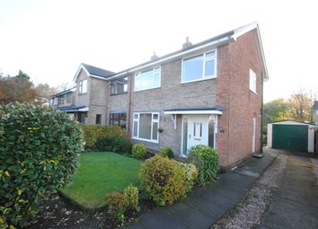 Thumbnail 3 bed property to rent in Knightsbridge Avenue, Grappenhall, Warrington