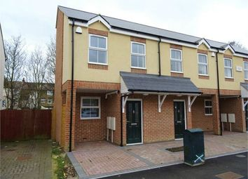 Thumbnail 3 bedroom end terrace house for sale in Trinity Road, Gillingham, Kent