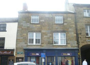 Thumbnail 1 bed flat to rent in White Hart Lane, Alnwick